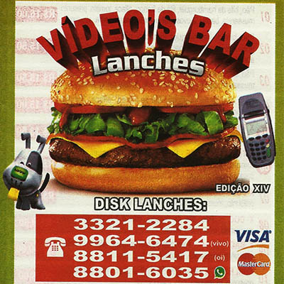Lanches - Video 's Bar Formiga MG